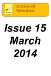 Newsletter 15 Mar 2014