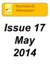 Newsletter 17 May 2014