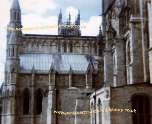York Minster Fire, July 1984