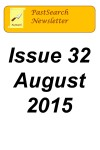 Newlettertitle 32, August 2015