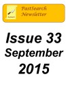 Newslettertitle 33, September 2015