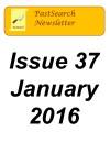 Newsletter 37 Jan 2016