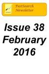 Newsletter 38 Feb 2016
