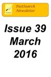 Newsletter 39 Mar 2016